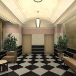 100 East Huron Street Interior Architecture - Lobby