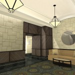 Interior Architecture - Lobby Design