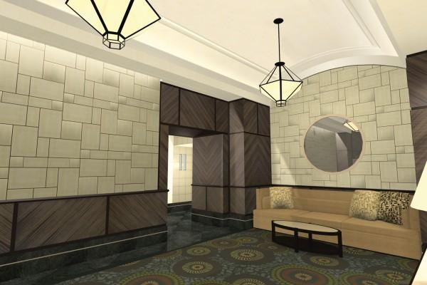 Interior Architecture - Lobby Design