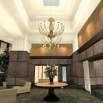 Grand architectural lobby design